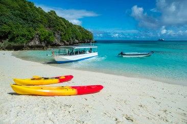 Glassboden Boot Tour Captain Cook Cruises Fidschi
