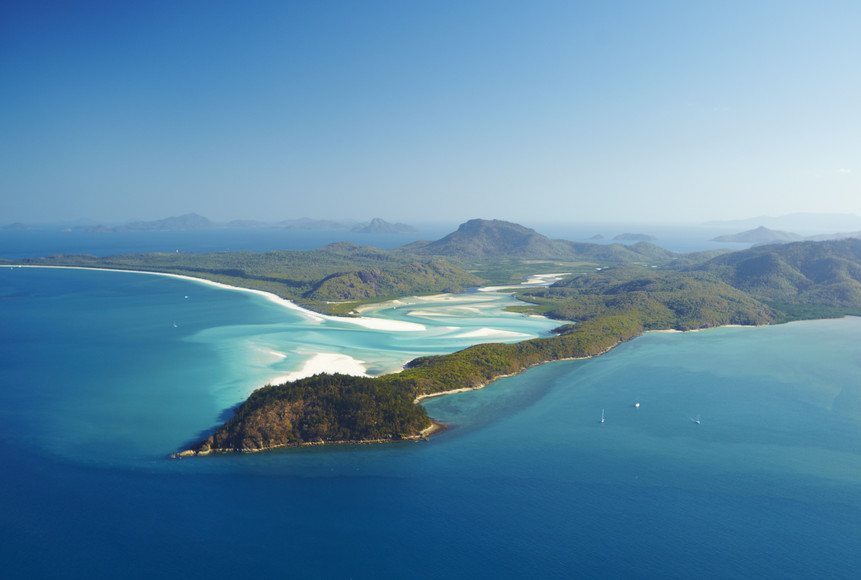 Whiteheaven Beach Whitsunday Islands Whitsunday Islands Great Barrier Reef Queensland QLD Australien AU