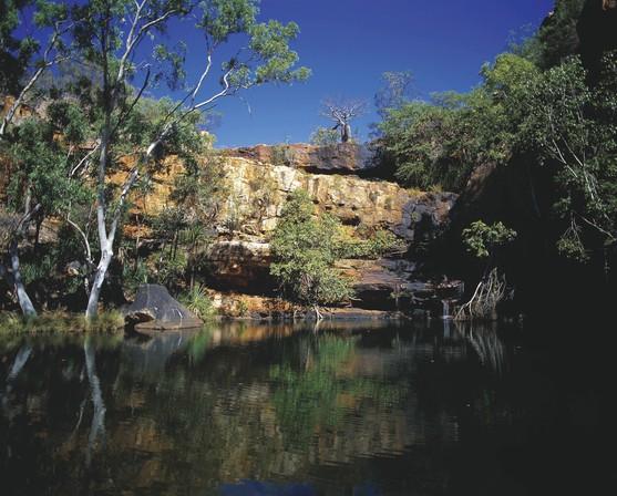 Galvans Gorge Kimberleys Westaustralien WA