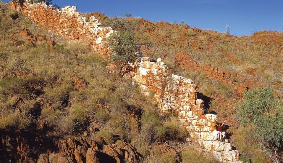 China Wall Halls Creek Kimberleys Westaustralien