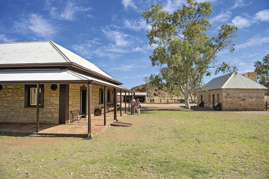 Old Telegraph Station Alice Springs Northern Territory Australien