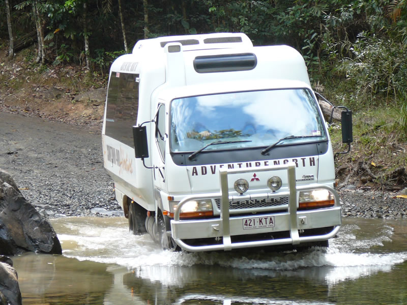 Fahrzeug Daintree Dreaming Adventure North Queensland QLD Australien