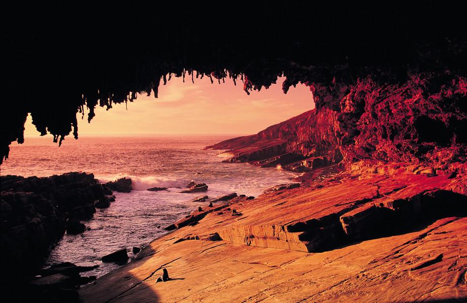 Sunset Admirals Arch Kangaroo Island Südaustralien SA Australien