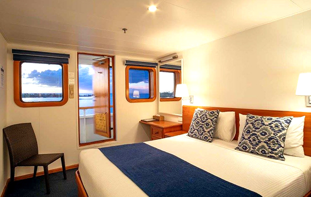 Ocean Stateroom MV Reef Endeavour Captain Cook Cruises Fidschi Fiji