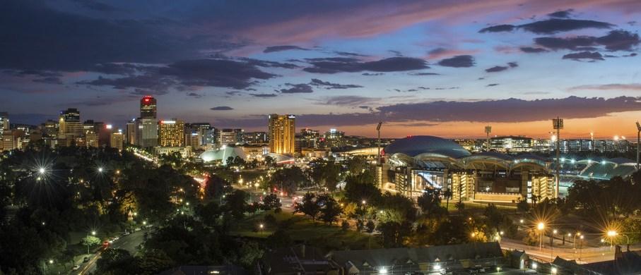 Sunset Adelaide Südaustralien