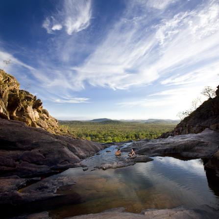 Gunlom Falls Kakadu Nationalpark Northern Territory NT Australien Quadrat