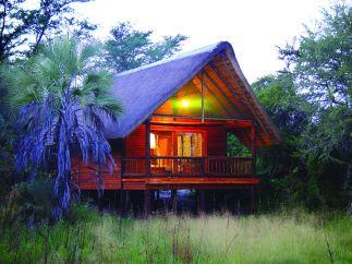 Nata Lodge Hut Botswana