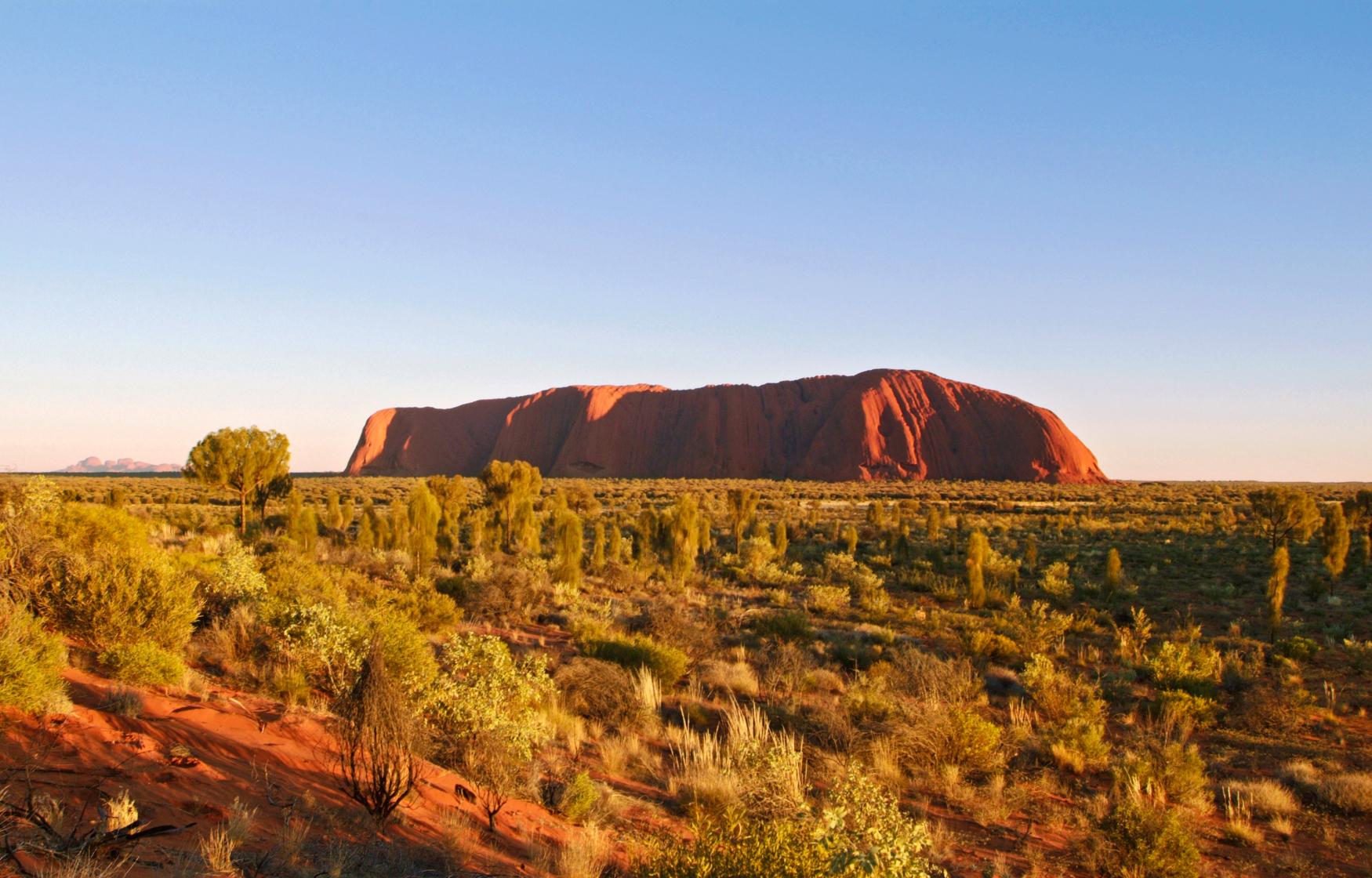 Sunrise Uluru Ayers Rock Northern Territory NT Australien