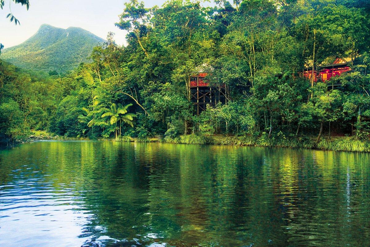 Silky Oaks Lodge Queensland Australien Außenansicht