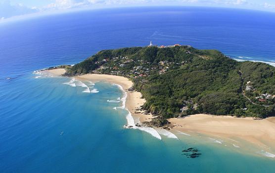 Luftaufnahme Cape Byron Byron Bay New South Wales Australien