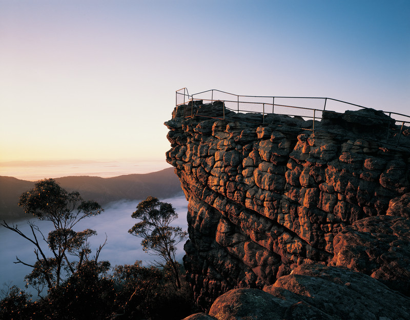 Sunrise The Pinnacle Grampians Nationalpark Victoria Vic Australien