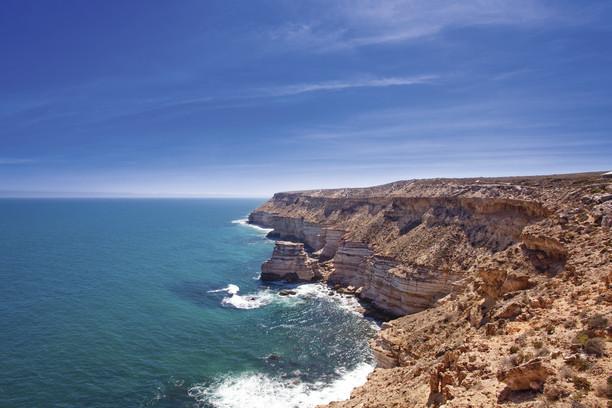 Küste von Kalbarri Westaustralien WA