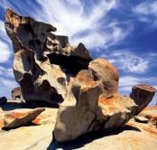 Remarkable Rocks Kangaroo Island SA Australien Quadrat