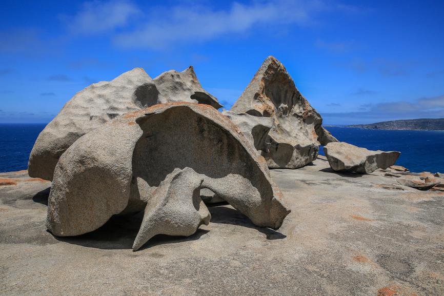 Remarkable Rocks Flinders Chase Nationalpark Kangaroo Island Südaustralien