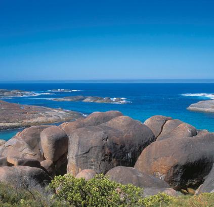 William Bay Nationalpark Denmark Westaustralien Australien Quadrat