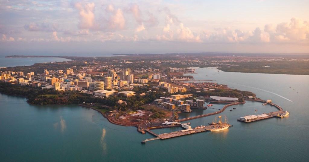 Sunrise über Darwin Northern Territory