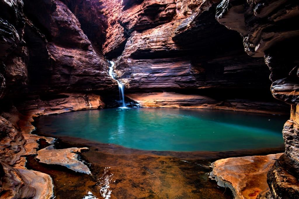 Pool im Karijini National Park Westaustralien