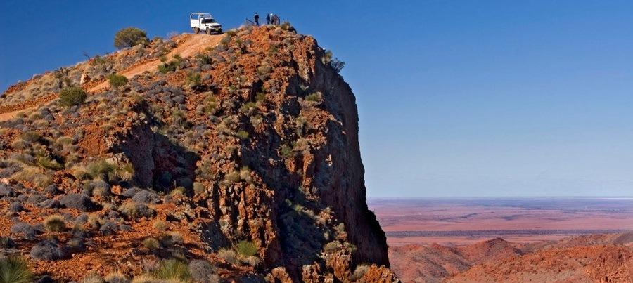 Arkaroola Ridgetop Cliff Tour Südaustralien