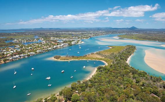 Luftaufnahme Noosa Queensland QLD Australien