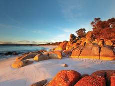 Bay of Fires Tasmanien Australien