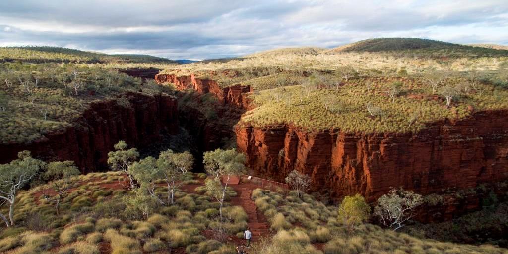 Oxer Lookout, Karijini National Park Westaustralien