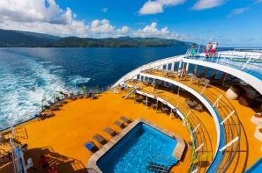 Poolbereich Aranui 5 Marquesas Inseln Französisch Polynesien Tahiti