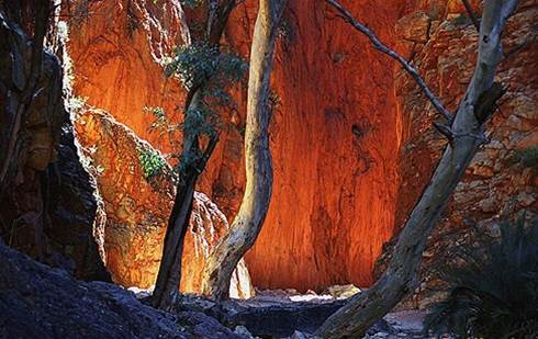 Simpsons Gap West MacDonnell Ranges Northern Territory Australien