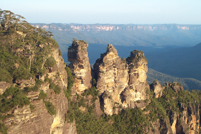 Three Sisters Blue Mountains New South Wales Australien NSW