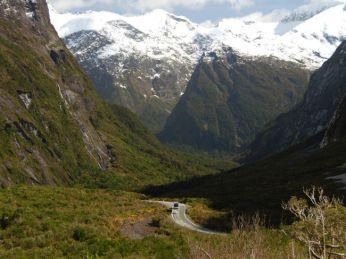 Cleddau Valley Fjordland Milford Sound Neuseeland