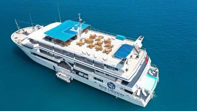 MV Fiji Princess Blue Lagoon Cruises Fidschi