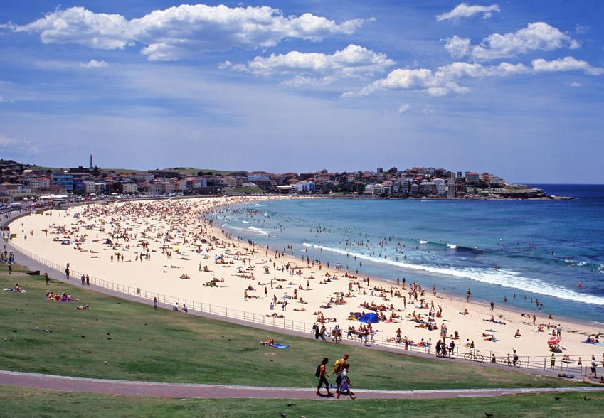 Bondi Beach Sydney New South Wales Australien NSW