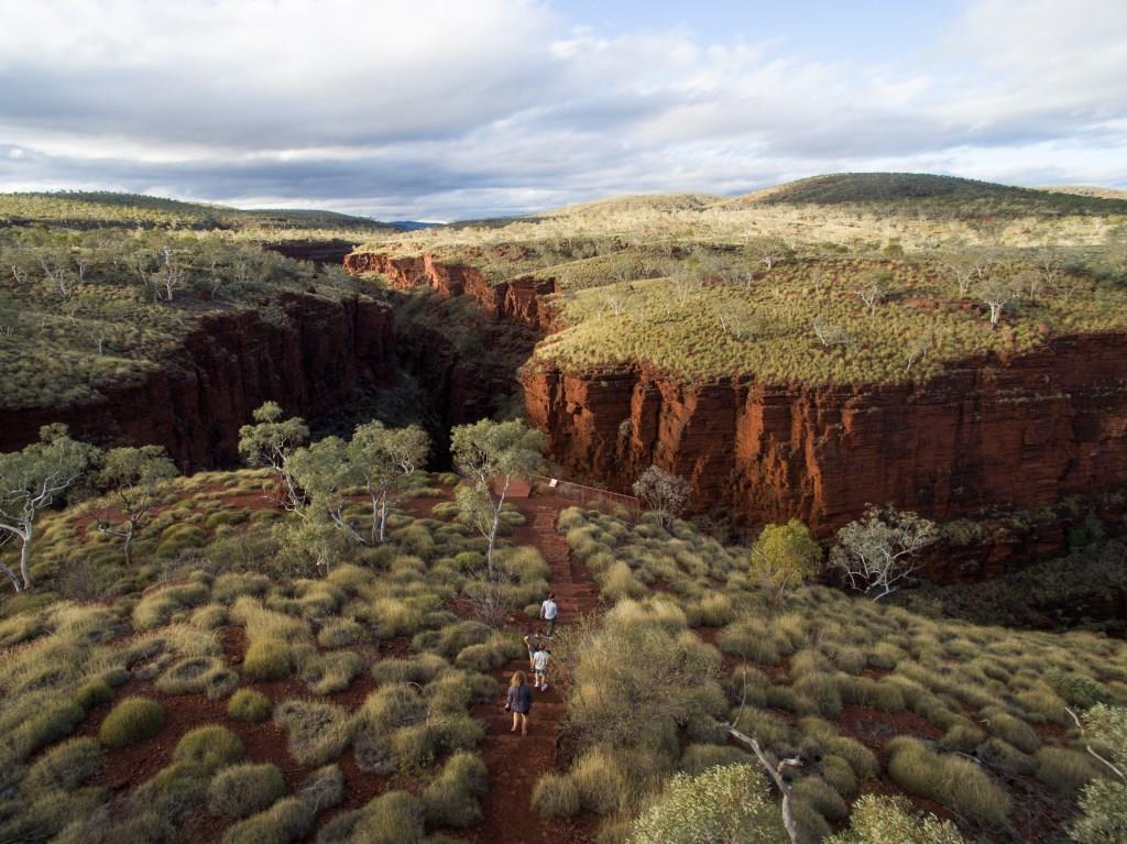 Oxers Lookout Karijini National Park Westaustralien