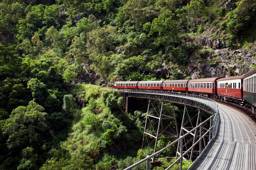 Kuranda Rail Cairns Queensland Australien QLD