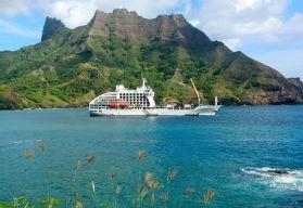 Aranui 5 Marquesas Inseln Französisch Polynesien Tahiti