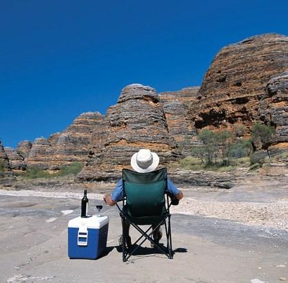 Break at Bungle Bungles Purnunulu Nationalapark Westaustralien WA Australien Quadrat