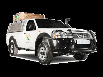 Britz Südafrika Namibia 2-Bett 4WD Camper Single Cab – MSE / MSEP / SE Außenansicht geschlossen