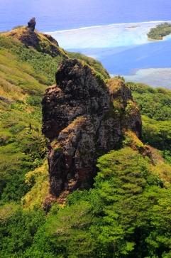 Inselinnere Huahine Französisch Polynesien Tahiti