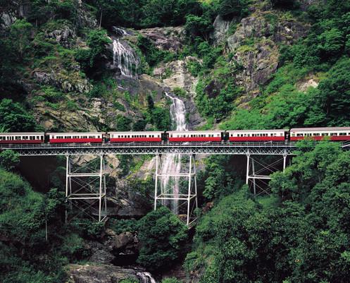 Kuranda Rail Cairns Queensland Australien QLD
