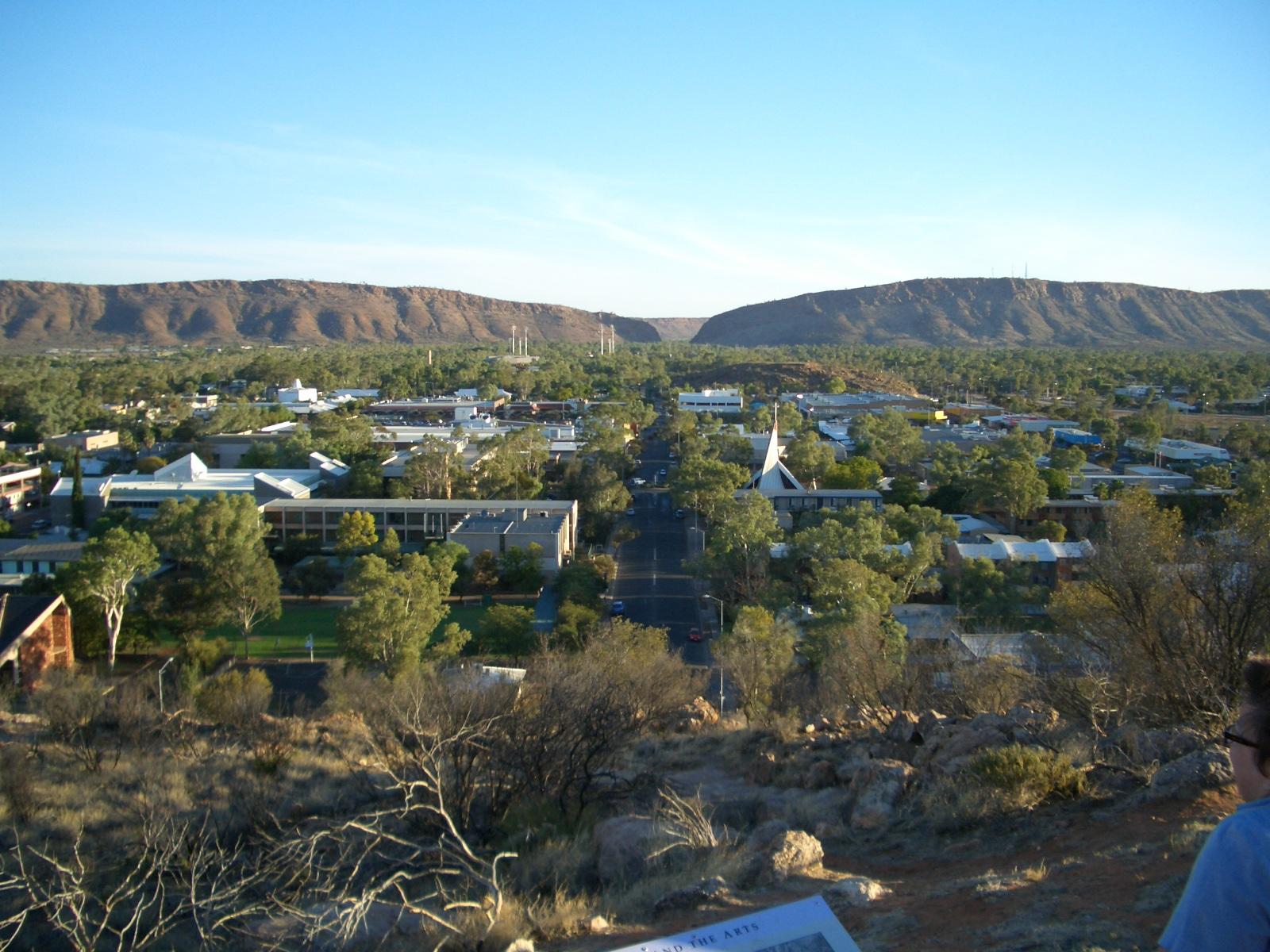 Blick auf Alice Springs Northern Territory