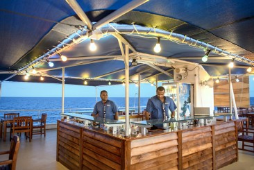 Außenbar MV Fiji Princess Blue Lagoon Cruises Fidschi