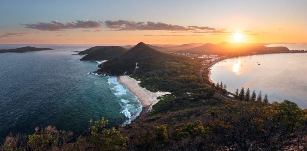 Tomaree Head Summit, Port Stephens New South Wales