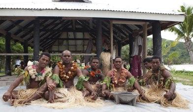 Cava Zeremonie Captain Cook Cruises Fidschi
