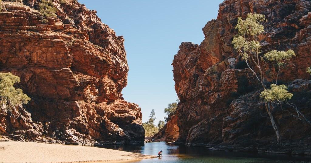 Ellery Creek Big Hole West MacDonnell Ranges Alice Springs Northern Territory