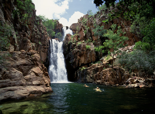 Florence Falls Litchfield Nationalpark Northern Territory NT Australien