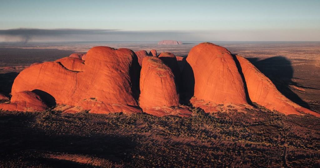 Luftaufnahme Kata Tjuta Olgas Northern Territory