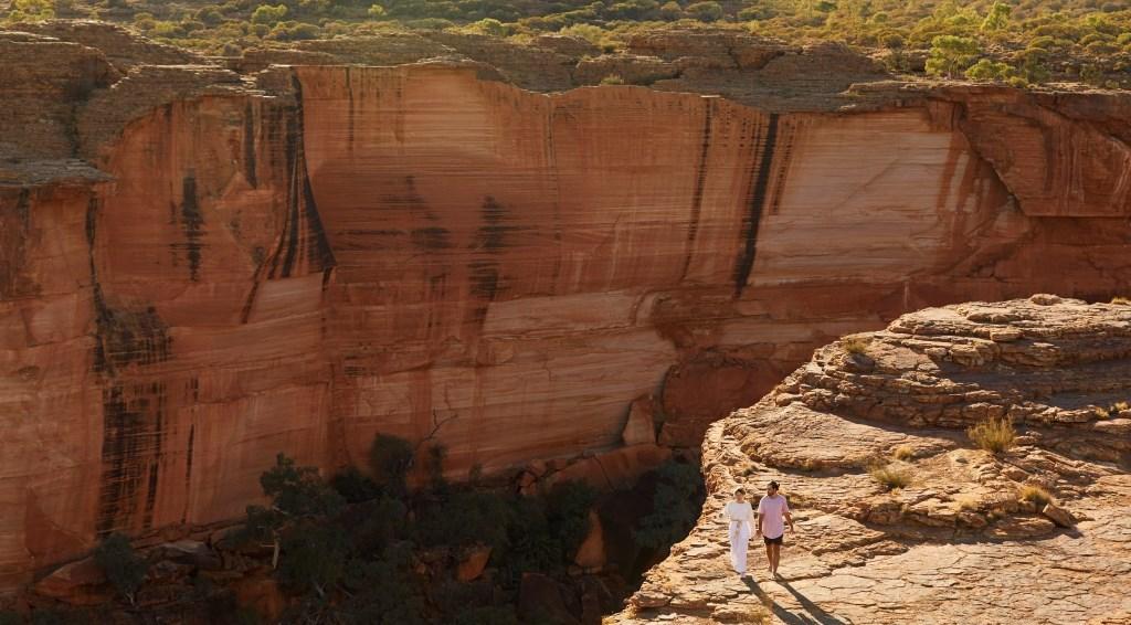 Steilwand Kings Canyon Watarka Nationalpark Northern Territory