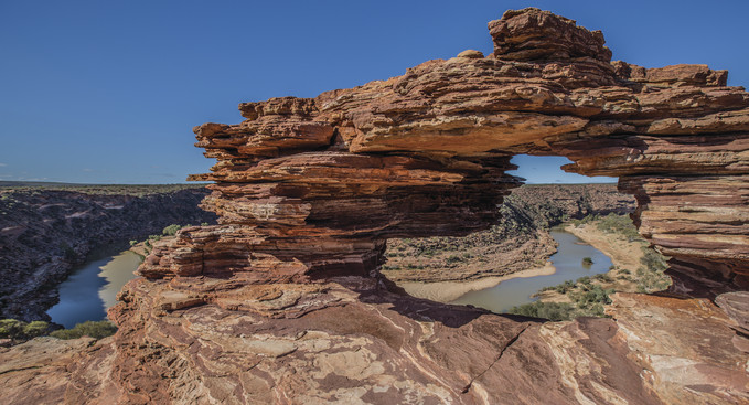 Natural Window Kalbarri Nationalpark Westaustralien WA