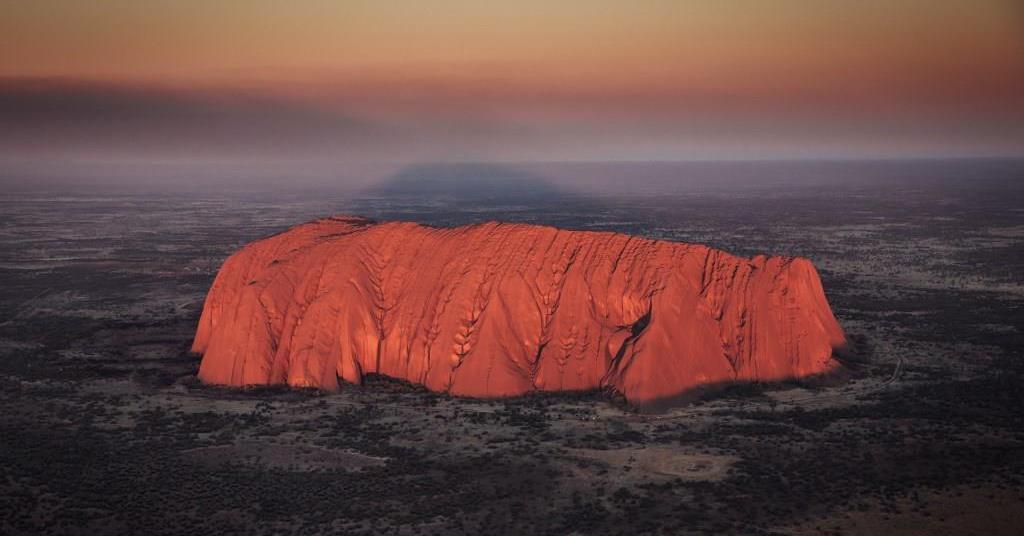 Helikopterrundflug Uluru Ayers Northern Territory