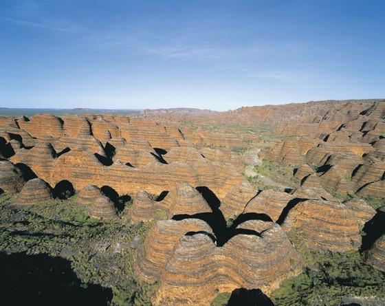 Bienenkörbe Bungle Bungles Purnunulu Nationalpark Westaustralien WA Australien AU