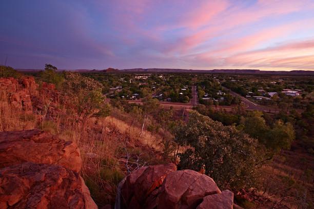 Kununurra bei Sonnenuntergang Westaustralien WA
